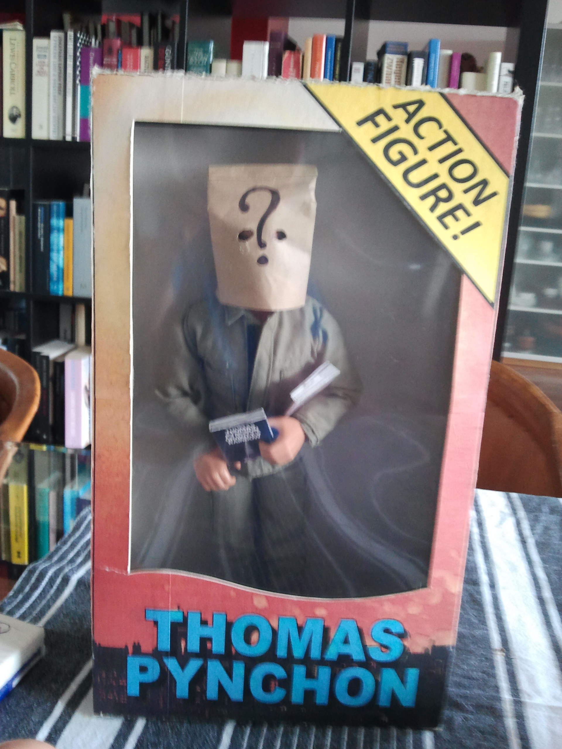 Thomas Pynchon Action Figure